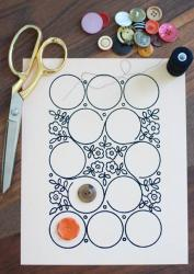 DIY-collage-of-ribbon-n-buttons6
