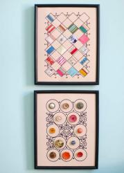 DIY-collage-of-ribbon-n-buttons7