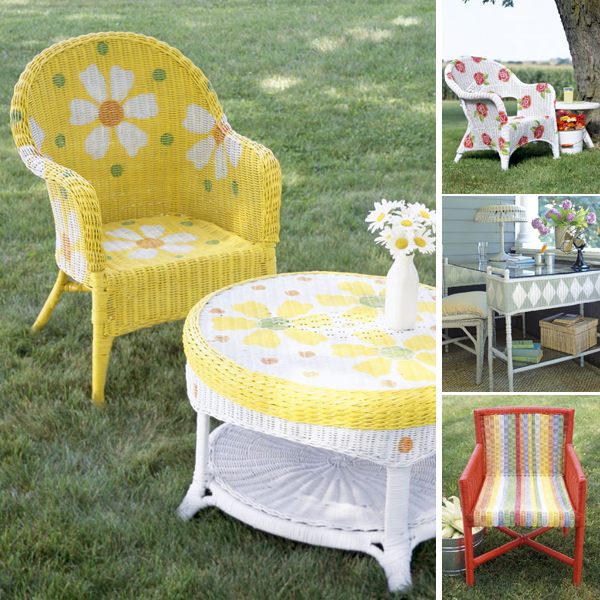 painting-on-wicker-patio-furniture