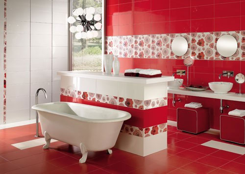 bathroom-in-red