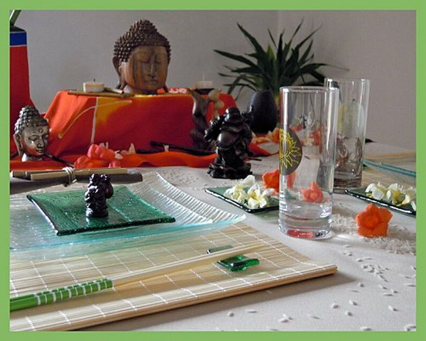 table-set-in-balinese-style