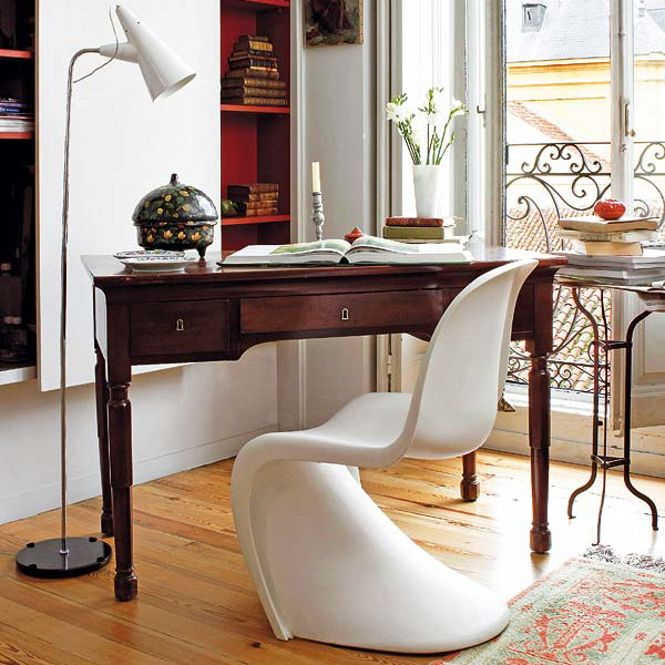 traditional-and-vintage-home-office