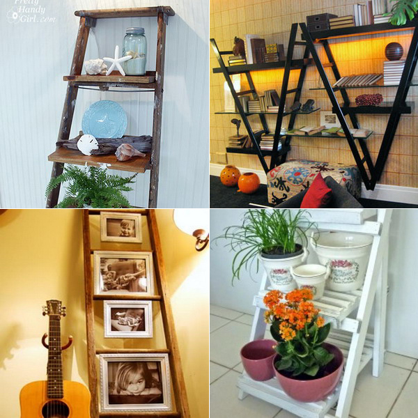 old-recycled-ladder-ideas