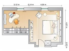 update-bedroom-with-wardrobe-and-home-office-plan