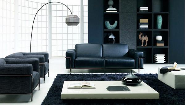 black-and-white-livingroom-natuzzi4