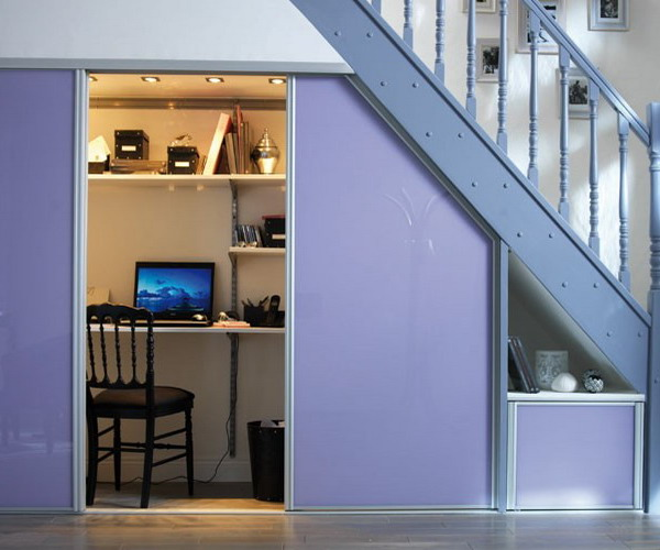 home-office-under-stairs