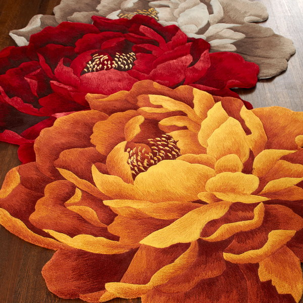 amazing-sculpted-shaped-floral-rugs