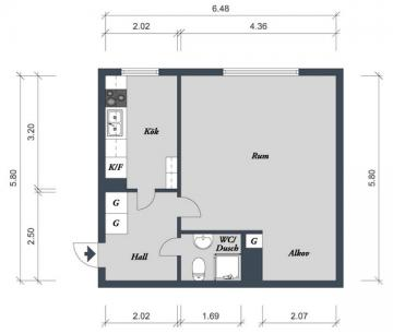 sweden-2-small-apartments-38sqm1-plan