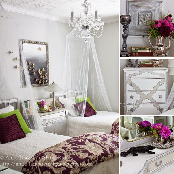girls-bedroom-in-french-style
