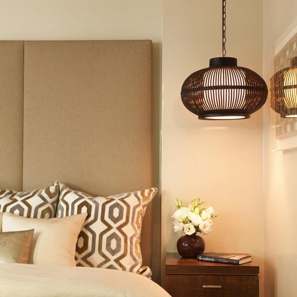 paired-pendant-lights-in-bedroom