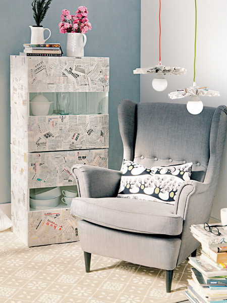 diy-decoupage-furniture-from-old-newspapers1