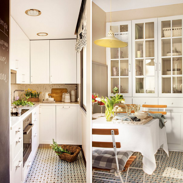 small-narrow-kitchen-with-dining-table