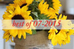 best9-sunflowers-centerpiece-decorating-ideas
