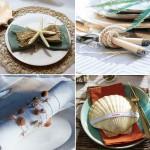 coastal-decor-on-plates-and-napkin-rings