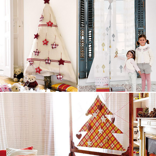 diy-christmas-tree-made-of-fabric