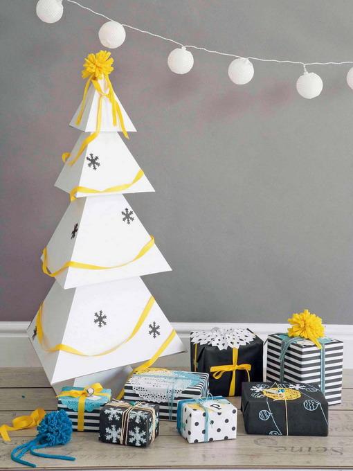 scandinavian-christmas-tree-made-of-paper