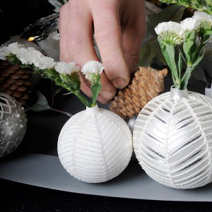 white-silver-christmas-floral-centerpiece-step6-1
