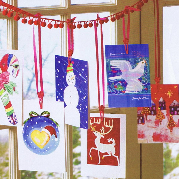 amazing-crafts-with-christmas-cards