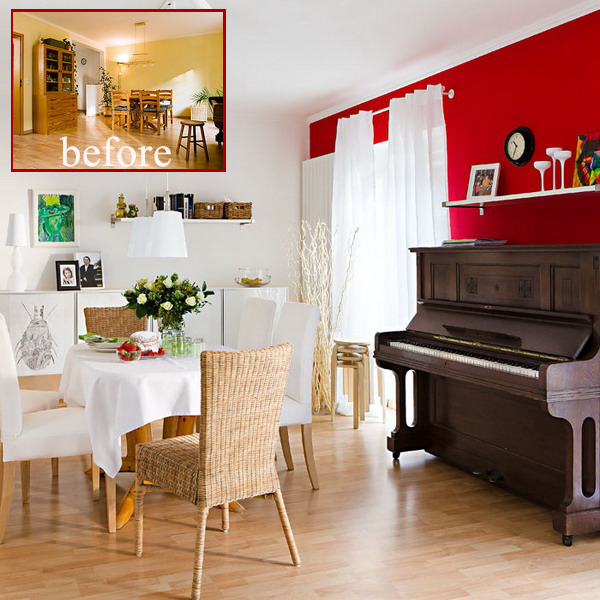 diningroom-livingroom-updrade-with-red-accent-wall