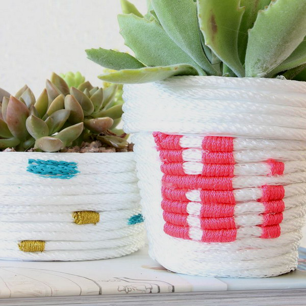 diy-5-flower-pots-decor-from-rope5