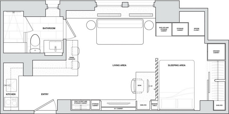 tiny-manhattan-studio-apartment-32-sqm-plan