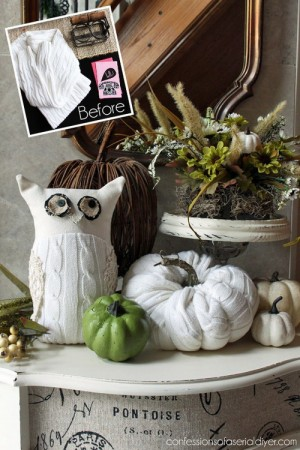 diy-owl-and-pumpkin-from-old-white-sweater2
