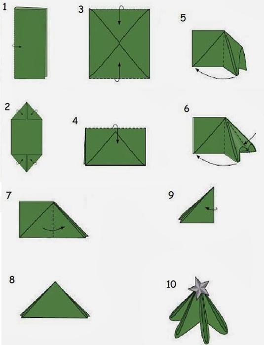 creative-napkin-folding-new-year-ideas-with-video5-tutorial