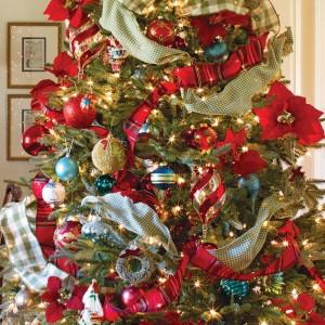 ribbon-on-christmas-tree-ideas7