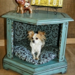 simple-diy-ideas-small-doggie-beds-in-nightstand8