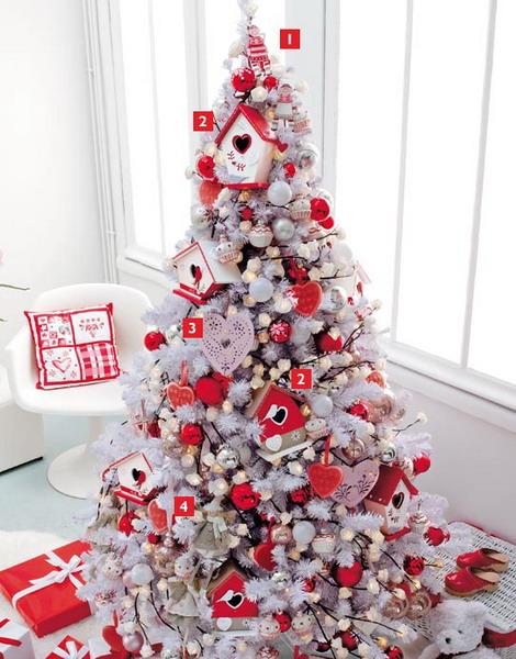 просто пытался бело красная елка фото является наиболее