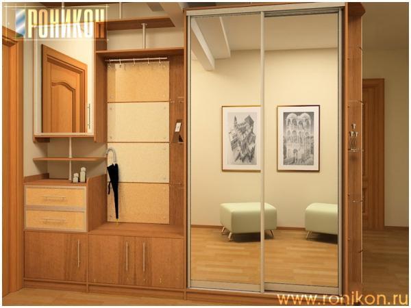 Дизайн прихожей шкафы и конструкции