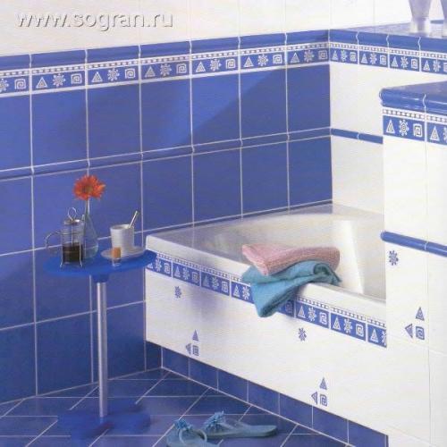 Дизайн кафельной плитки в ванной: Декоративные решения для ванных: 19 красивых вариантов
