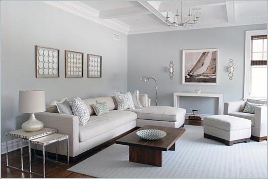 White Grey Living Room