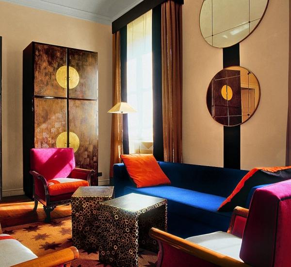 Итальянская гостиная - Стиль фьюжн - Галерея