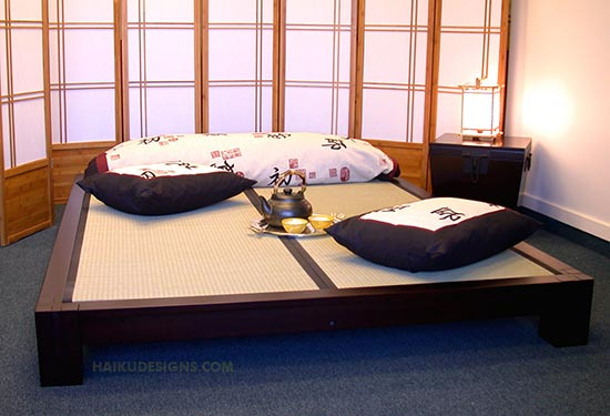 Как сделать кровать в японском стиле своими руками