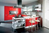 Барная стойка на кухне - фото.