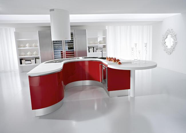 Белые кухни в интерьере, более 100 фото.