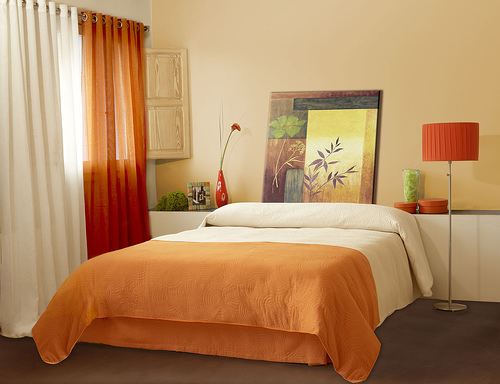 bedroom-orange-terracota