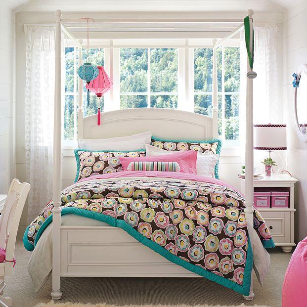 Американские дизайны комнат для девушек