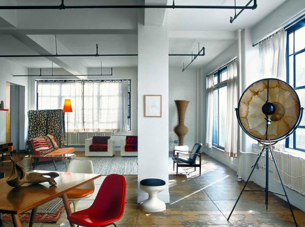 Дизайн интерьера в стиле Лофт.
