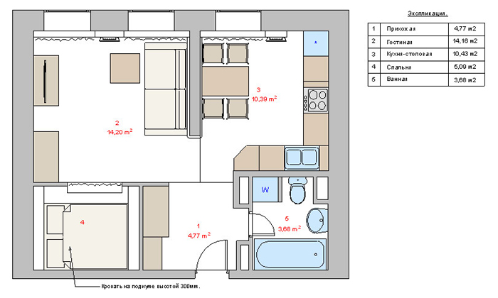 Решения по отделке балкона п44т