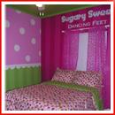 cool teen room green pink02 идеи для детской комнаты
