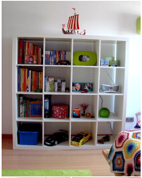 Открытый шкаф для игрушек своими руками