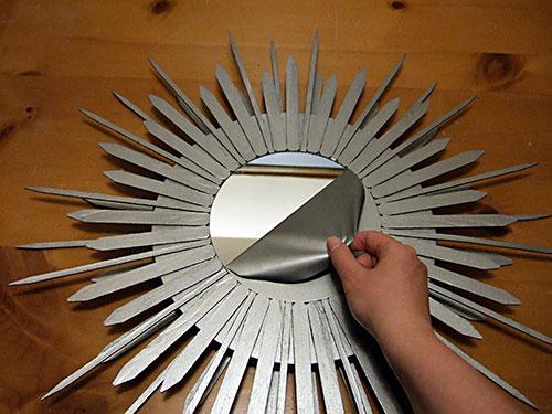 Как сделать из зеркал солнечный луч
