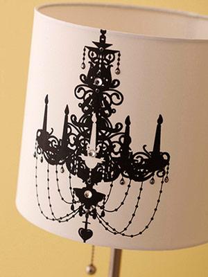 Как обновить настольную лампу своими руками 37 идей для абажура