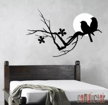 black-stickers-decor-bird-n-flowers1
