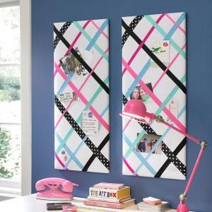 ribbon-home-decor-memory-board1