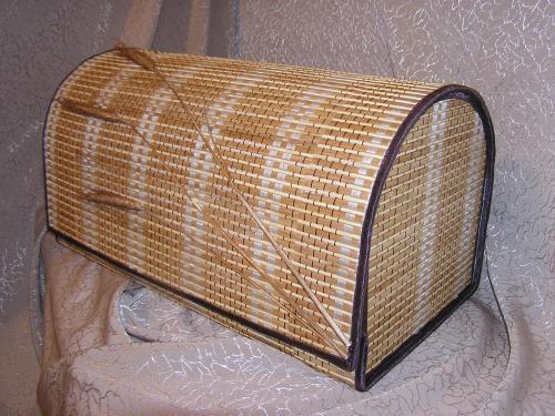 Хлебница из бамбуковых салфеток своими руками 74