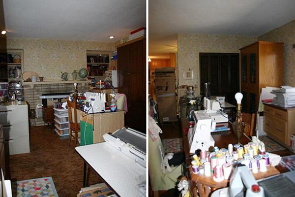 перенос кухни в комнату фото