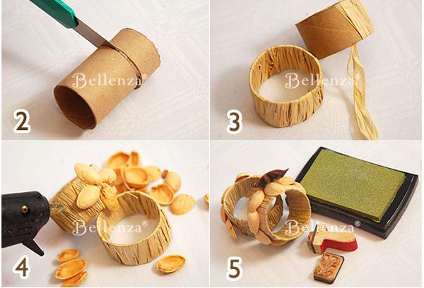 Сделать кольцо для салфетки своими руками